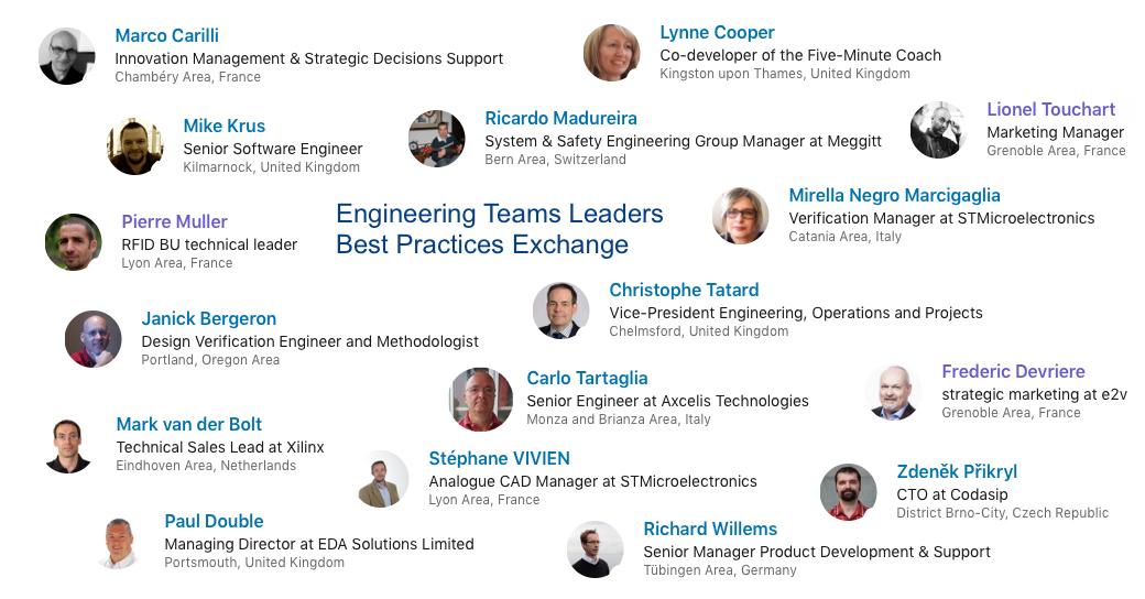 Best practices Exchange for Engineering Team Leaders